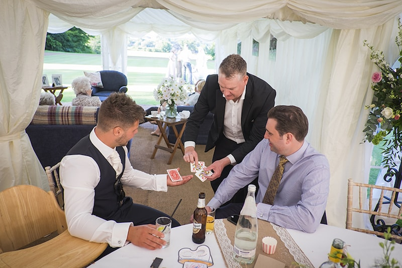Best time for magic at a wedding