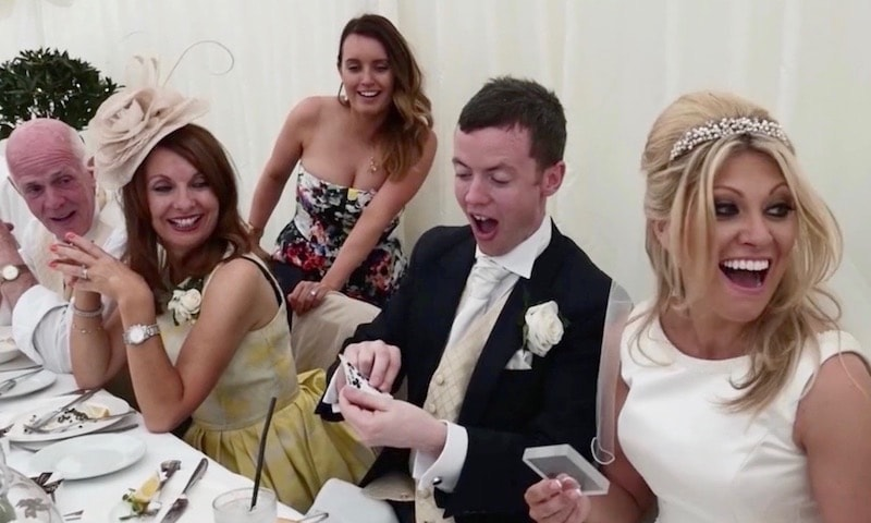 Wedding Breakfast Magician